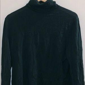 BR/K.Love-18 Turtleneck Merino Wool Sweater